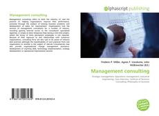Portada del libro de Management consulting