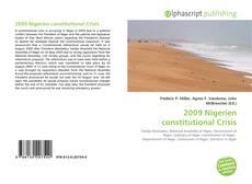 Couverture de 2009 Nigerien constitutional Crisis