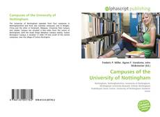 Couverture de Campuses of the University of Nottingham