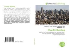 Capa do livro de Chrysler Building