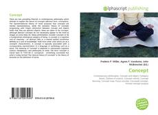Bookcover of Concept