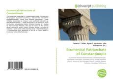 Обложка Ecumenical Patriarchate of Constantinople