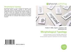 Bookcover of Morphological Typology
