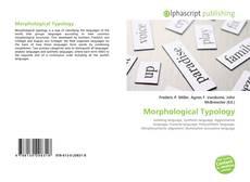 Morphological Typology kitap kapağı