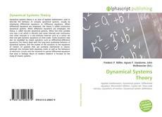 Bookcover of Dynamical Systems Theory