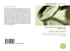 Capa do livro de Celtic languages