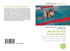 Bookcover of Bids for the 2016 Summer Olympics