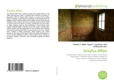 Portada del libro de Dreyfus Affair