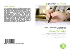 Bookcover of Linear Elasticity