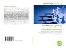 Portada del libro de Goddess movement