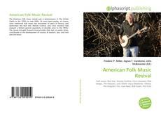 Bookcover of American Folk Music Revival