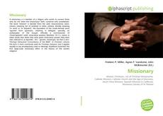 Bookcover of Missionary