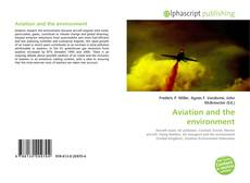 Portada del libro de Aviation and the environment