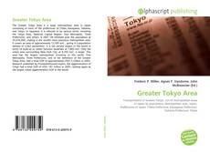 Bookcover of Greater Tokyo Area