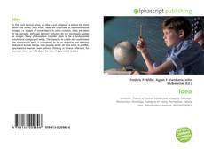 Bookcover of Idea
