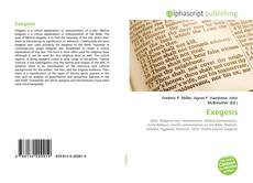 Exegesis的封面