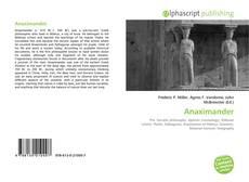 Bookcover of Anaximander