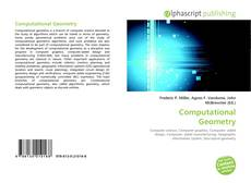 Bookcover of Computational Geometry