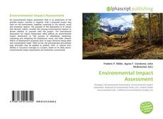 Portada del libro de Environmental Impact Assessment