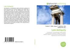 Couverture de Late Antiquity