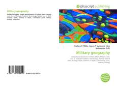 Bookcover of Military geography