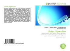 Bookcover of Linear regression