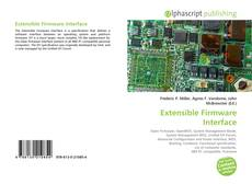 Capa do livro de Extensible Firmware Interface