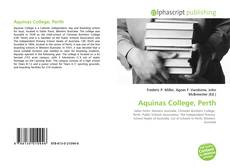 Bookcover of Aquinas College, Perth