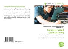 Bookcover of Computer-aided Manufacturing