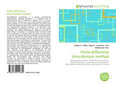 Couverture de Finite-difference time-domain method
