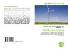 Bookcover of Geothermal Heating