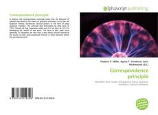 Bookcover of Correspondence principle