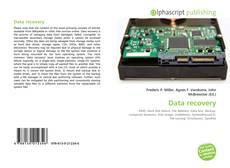 Buchcover von Data recovery