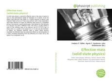 Effective mass (solid-state physics) kitap kapağı