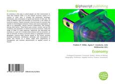 Bookcover of Economy