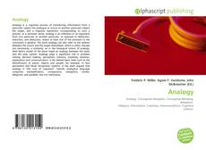Bookcover of Analogy
