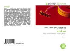 Capa do livro de Analogy
