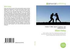 Portada del libro de Mick Foley