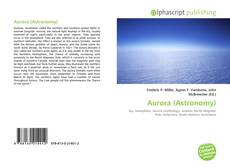Bookcover of Aurora (Astronomy)