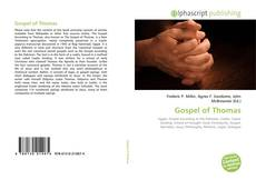 Bookcover of Gospel of Thomas