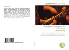 Bookcover of Harmony