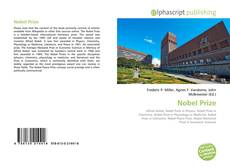 Bookcover of Nobel Prize