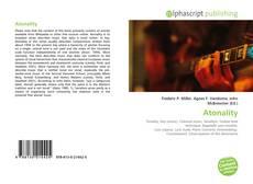 Atonality kitap kapağı