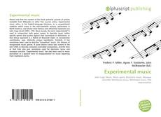 Bookcover of Experimental music
