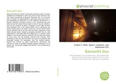 Bookcover of Barnard's Star