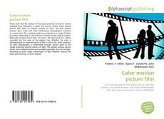 Bookcover of Color motion picture film