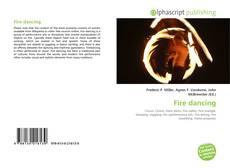 Capa do livro de Fire dancing