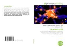 Buchcover von Homeostasis