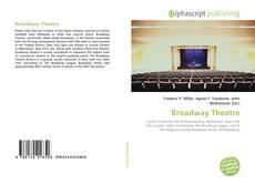 Capa do livro de Broadway Theatre