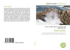 Portada del libro de Hard water